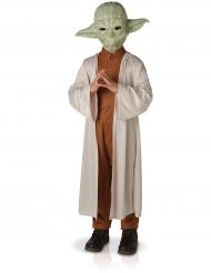Star Wars™ Yoda Deluxe Kinderkostüm mit Maske Lizenzware beige-braun-grün
