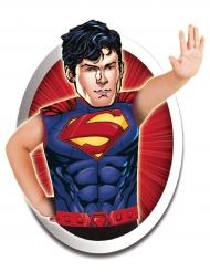 Superman™ Shirt und Maske Kostüm-Set für Kinder bunt