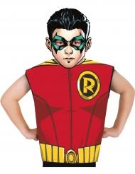 Robin™ Maske und Shirt Kostüm-Set für Kinder Lizenzartikel rot-gelb-schwarz