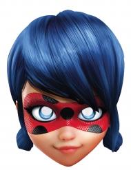Ladybug™-Pappmaske Miraculous™-Lizenzmaske für Kinder blau-hautfarben-rot