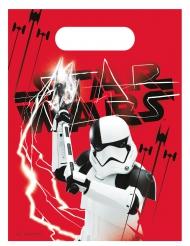 Stormtrooper-Geschenkbeutel Star Wars: Die letzten Jedi™-Lizenzartikel 6 Stück rot-schwarz-weiss
