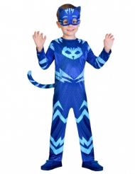 Catboy™ Kinderkostüm für Jungen PJ Masks™ Lizenzartikel blau