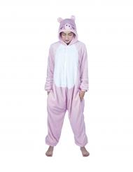 Süsses Schweinchen-Kostüm Overall rosa