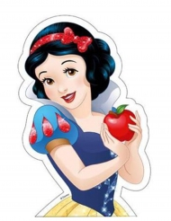 Disney Prinzessinnen™-Oblate Schneewittchen blau 15,9x24,3cm