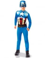 Captain America™-Kinderkostüm Marvel-Lizenzkostüm blau