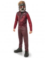 Star Lord™-Kinderkostüm mit Maske Lizenzkostüm braun-rot