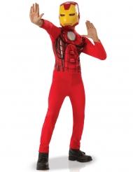 Iron Man™-Kinderkostüm Lizenzkostüm Comic rot-gelb