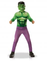 Hulk™-Kinderkostüm Comic Lizenzkostüm grün-lila