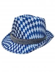 Bayernhut Moni grau-blau Trachtenhut Oktoberfest Dirndl Hut Wiesn