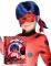 Ladybug™ Kinderperücke mit Maske für Mädchen blau
