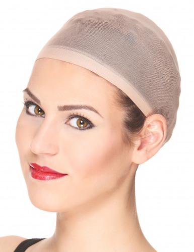 Perücken Unterziehhaube Haarnetz beige