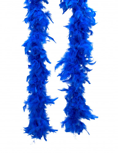 Federboa blau 80gr 80cm