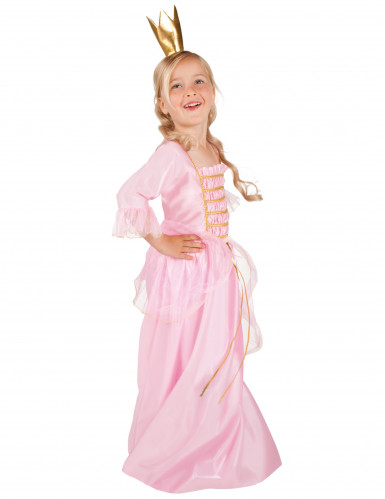 Zauberhafte Traumprinzessin Kinderkostüm rosa-gold