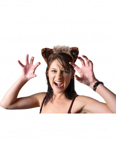 Haarreif mit Leopardenohren