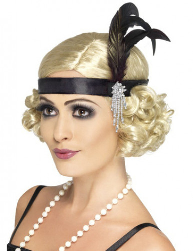 Showgirl Kopfband schwarz