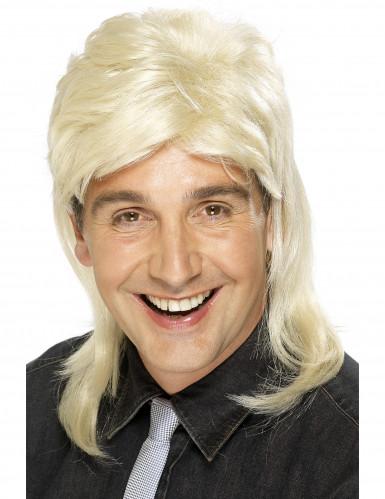 Vokuhila-Perücke blond