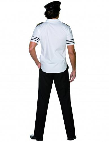 Pilot Kostüm weiss-schwarz-2