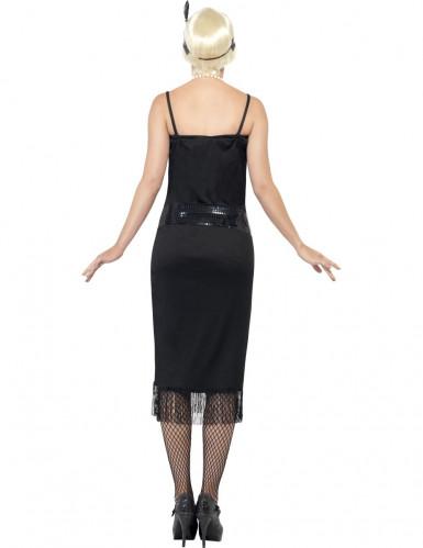 Charleston Can Can Damen-Kostüm schwarz-2