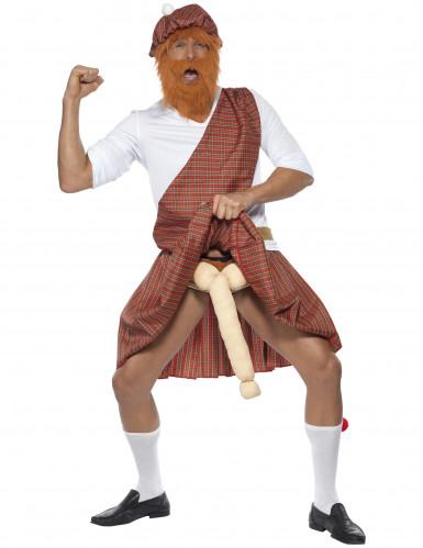 Langer Schotte Kostüm kariert