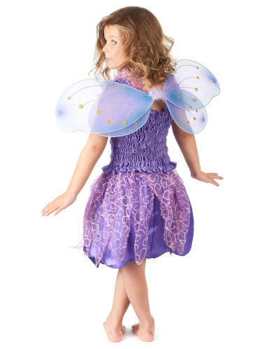 Bezaubernde Fee Kinderkostüm Elfe violett-2