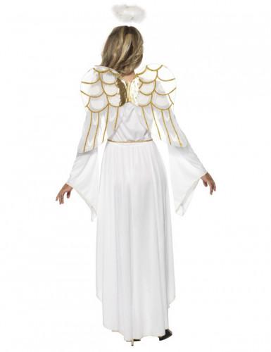 Herrlicher Engel Damenkostüm weiss-gold-1