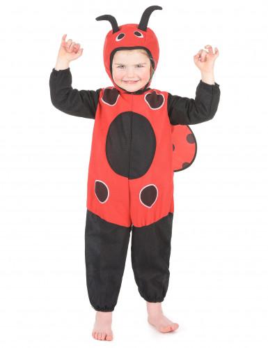 Kleiner Marienkäfer Kinderkostüm Käferchen schwarz-rot