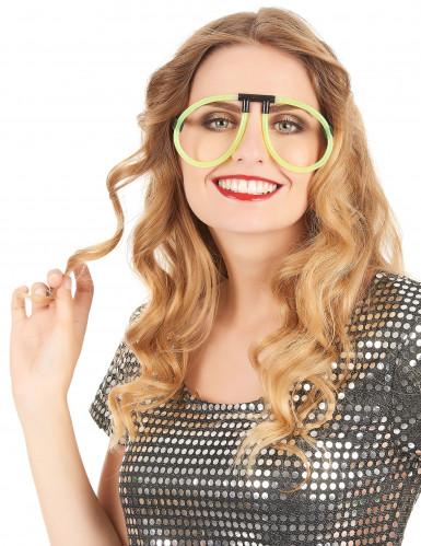 Knicklichter Brille leuchtend Party-Gadget bunt