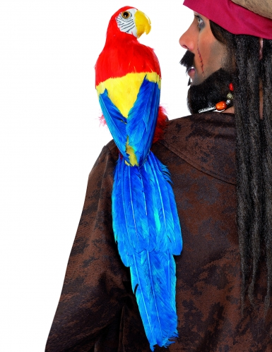 Piraten-Papagei bunt 50cm