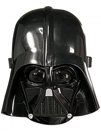 Darth-Vader Lizenz-Maske für Kinder schwarz