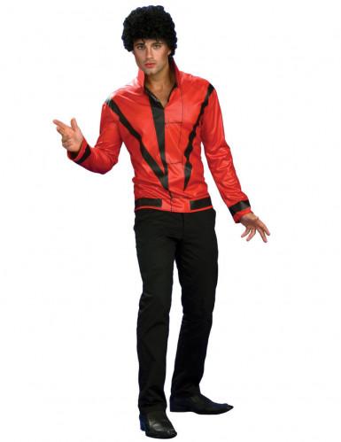 Michael Jackson™-Jacke Thriller™-Jacke rot-schwarz