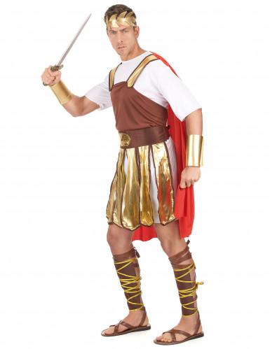 Kleopatra und Caesar - Paarkostüm für Erwachsene in Gold, Braun und Rot-1