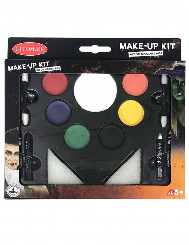 Deluxe-Make-up Familien-Set für Halloween bunt
