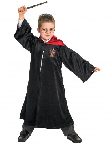 Harry Potter™-Kinderkostüm Hogwarts-Robe schwarz-rot