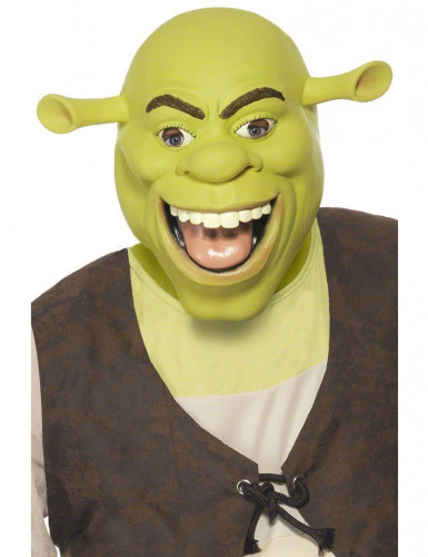shrek comic lizenz film maske gr n g nstige faschings. Black Bedroom Furniture Sets. Home Design Ideas