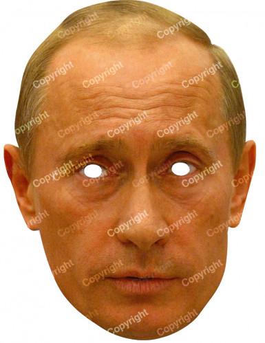 Wladimir Putin Maske Pappkarton 40 x 28 cm