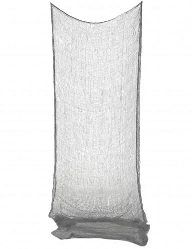 Fetzen-Tuch Halloween Dekoration grau 75 x 150 cm
