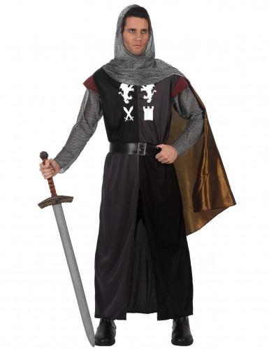 Mittelalterliches Ritter-Kostüm für Erwachsene