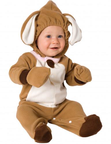 Niedlicher Hund Babykostüm Welpe braun-weiss