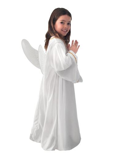 Süsser Engel Kinderkostüm Weihnachten weiss