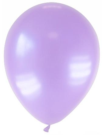 Party Zubehör Deko Luftballons 12 Stück pastell lila 28 cm