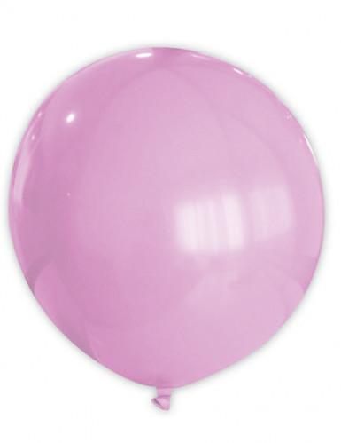Riesen Party Dekoration XXL Luftballon rosa 80 cm