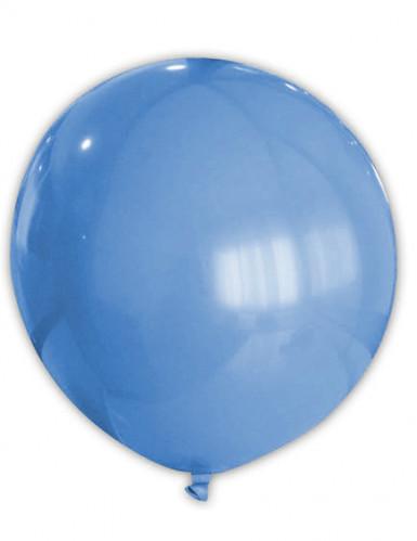 Riesen Party Dekoration XXL Luftballon blau 80cm