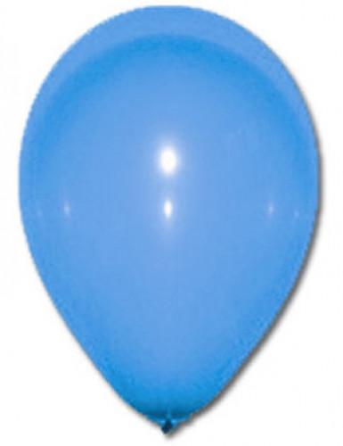 Luftballons Party-Deko 100 Stück blau 30cm