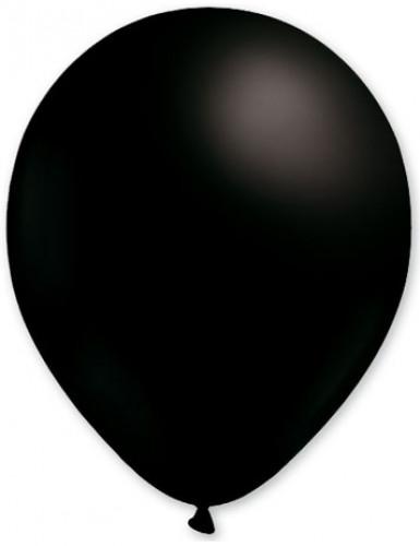 Luftballons Party-Deko 100 Stück schwarz 30cm