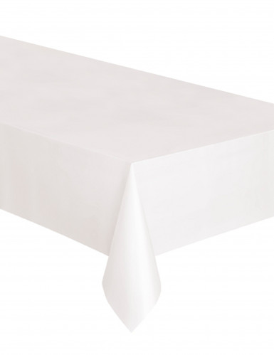party tischdecke weiss 127x274cm g nstige faschings. Black Bedroom Furniture Sets. Home Design Ideas
