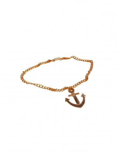 Anker-Halskette gold