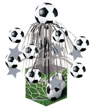 fussball font ne tischdeko gr n schwarz weiss 31 75cm g nstige faschings partydeko zubeh r. Black Bedroom Furniture Sets. Home Design Ideas