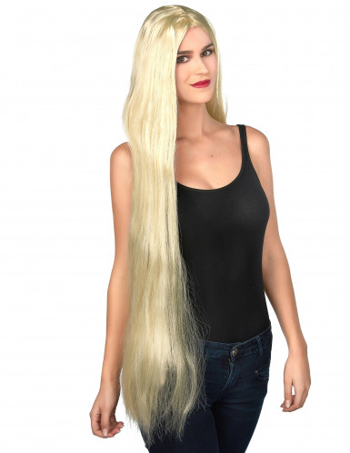 Extralange Damen-Perücke blond