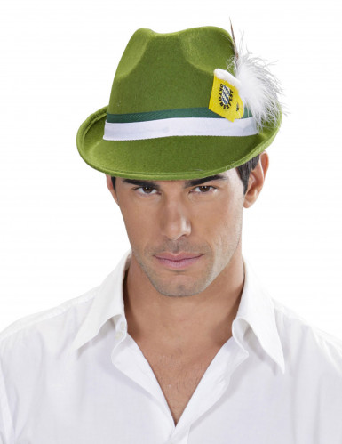 Bayern Hut mit Bierkrug Oktoberfest grün