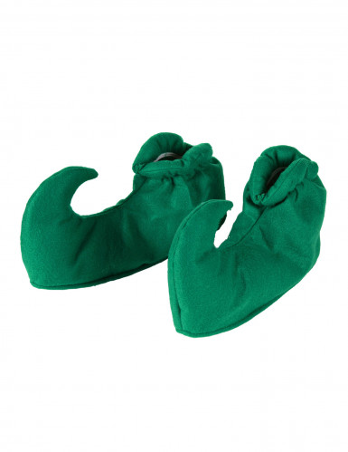 Elfen Wichtel Schuhe zum überziehen grün